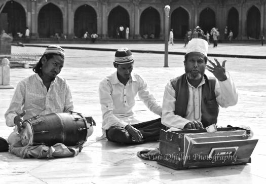 Live Qawalli performers, Fatehpur Sikri