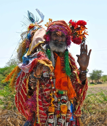 A very colourful character, Rajasthan