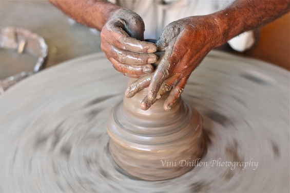Potter's wheel, Jodhpur