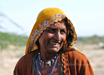 Nomad woman, Bishnoi Village